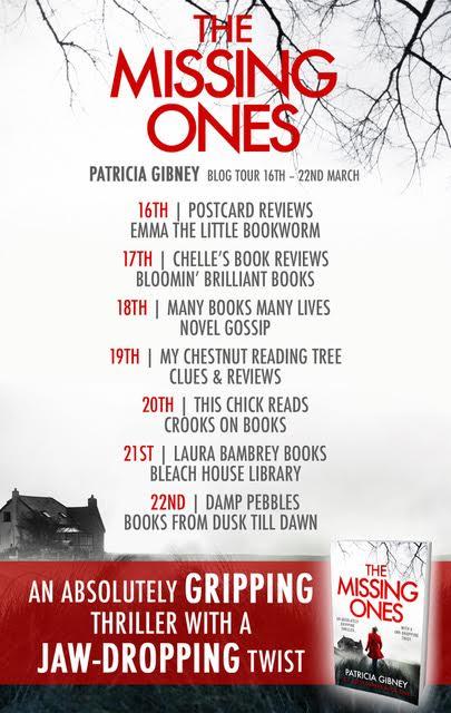 blog tour poster patricia gibney