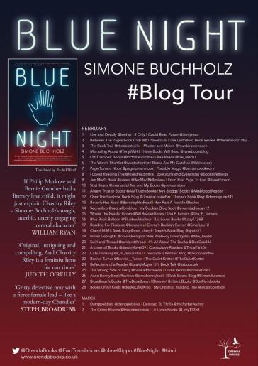 blue night blog tour