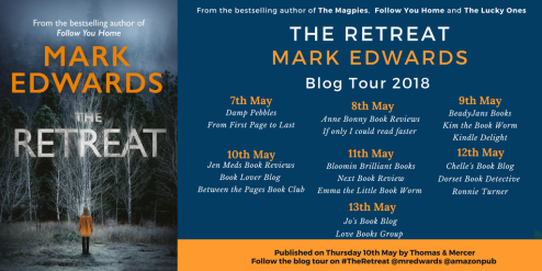 The Retreat by Mark Edwards Blog Tour banner final.png