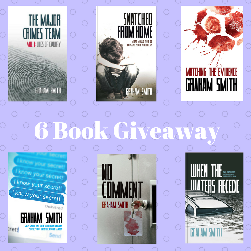 When Waters Recede - 6 Book Giveaway