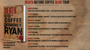 Death Before Coffee Blog Tour