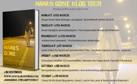 MAMA'S GONE banner