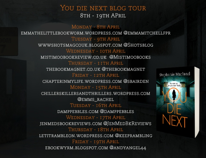 You Die Next price blog tour