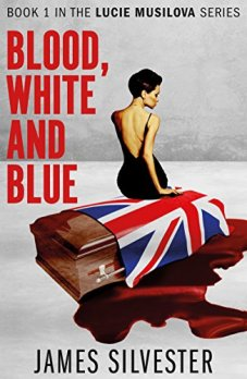 blood, white and blue