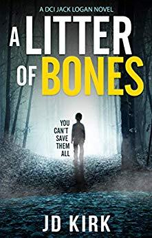 a litter of bones