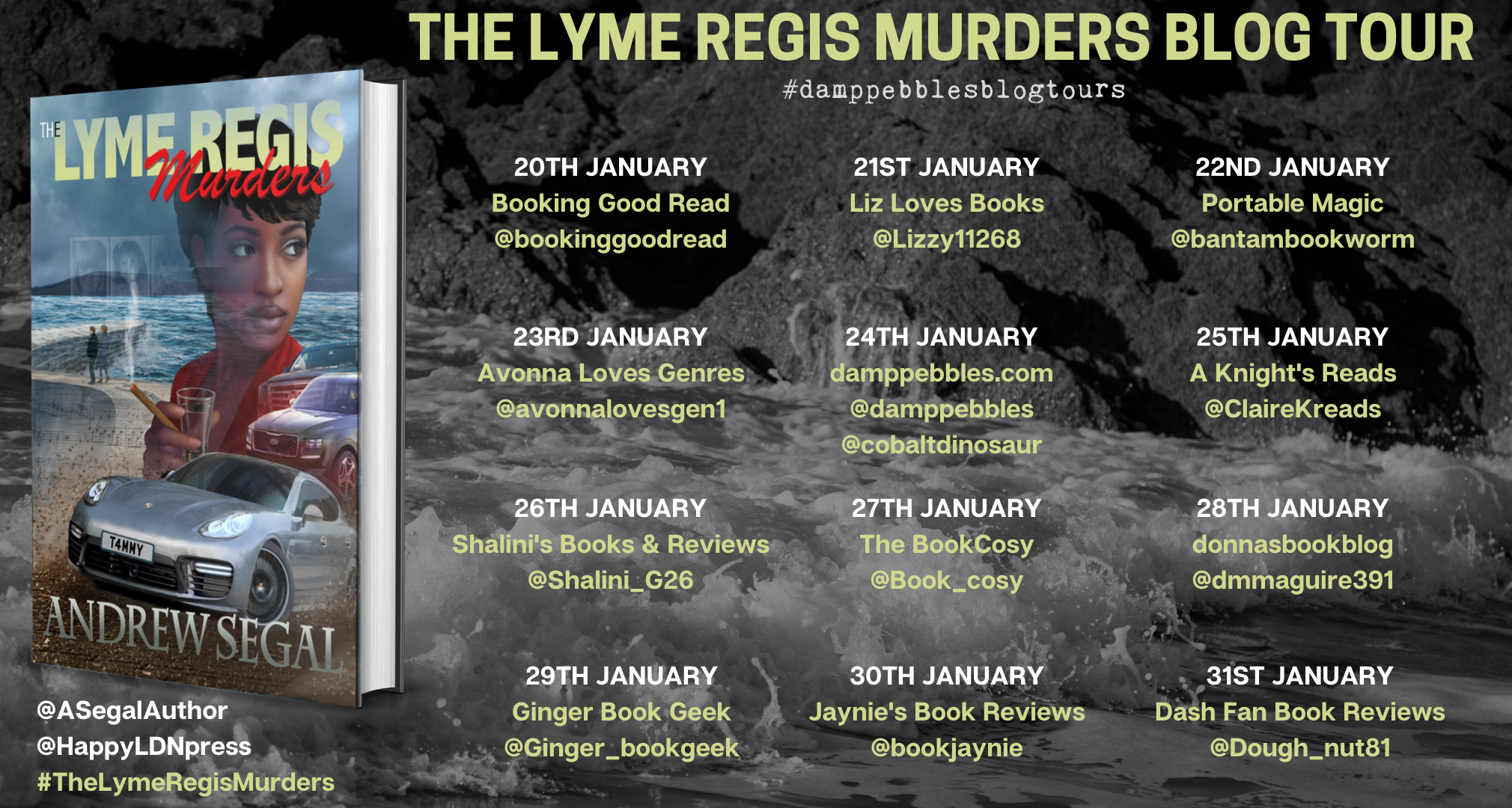 The Lyme Regis Murders banner