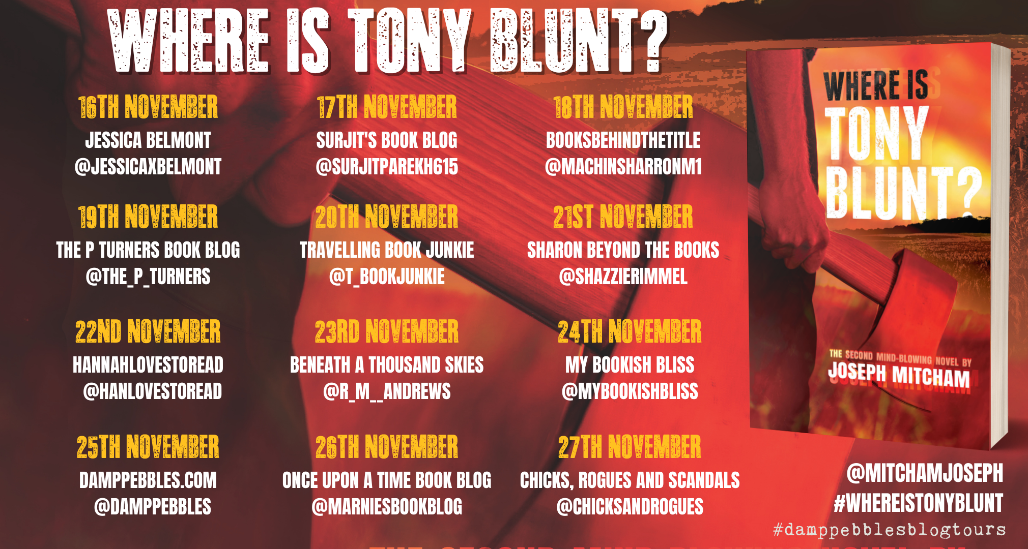 where is tony blunt banner