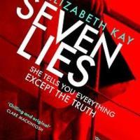 #BookReview: Seven Lies by Elizabeth Kay #SevenLies #damppebbles